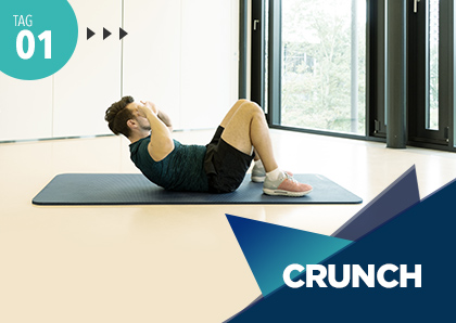 Fitness Challenge Tag 1: Crunch