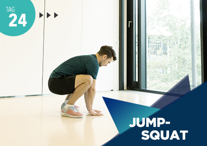 Fitness Challenge Tag 24: Jumpsquat