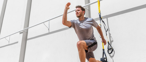 Sling-Training TRX mit Trainer