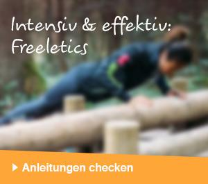 Intensiv & effektiv: Freeletics – Anleitungen checken