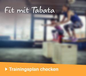 Fit mit Tabata – Trainingsplan checken